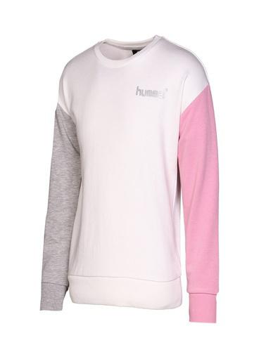 Hummel Hummel 9206769003 Ange Çocuk Sweatshirt Beyaz